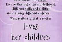 Parenting / Inspiring thoughts and tips for parenting