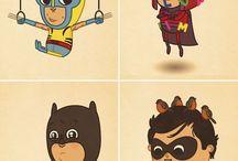superhero awesomness