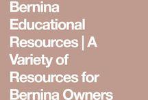 Bernina tutorials, workbooks, etc
