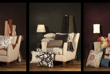 342c / The right chair lets you change wall color and a pillow or two for high impact low cost design changes.