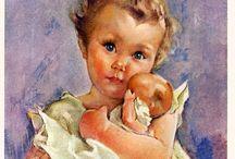Дети с куклами