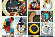 Seasons: Fall Wreaths