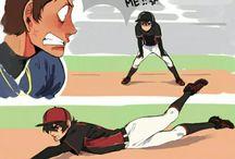 Klance baseball au