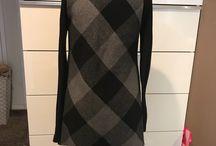 checkered draping