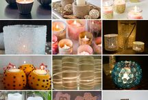 Candle Holders / DIY Candle Holders and showcases