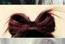Hair inspiration / Hair, hair everywhere
