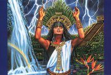 Goddess Ixchel / Be a channel for Diving Healing Power!                                 Ixchel is the ancient Maya goddess of fertility & healing.