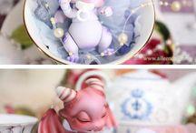 Baby dragone doll