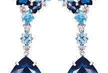 New blue jewellery