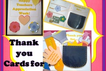 thank you card teachers