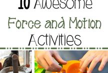 4th grade science - force and motion