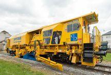 vlaky - pracovní a služební vozidla