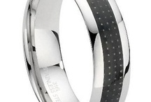 Unique and Unusual Men's Wedding Rings / For some men, a traditional plain wedding band simply won't do. Mens-Wedding-Rings.com's large and diverse collection of wedding bands includes a number of more unusual styles, perfect for the guy who likes to stand out. Here are some of our favorite unique men's wedding rings that are anything but ordinary. / by Mens-Wedding-Rings.com