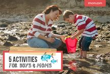 activities for boys & mums