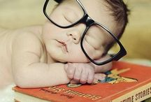 Baby Reading Photography