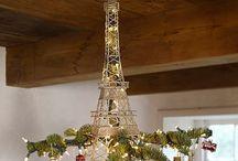 Christmas ~ Vive la France! / Food, perfume, haute couture, wine, history.....bring on the Christmas vibe à la française!
