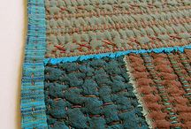 Stitch and textiles / textile art I like