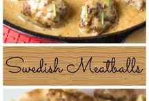 Swedish meatball recipes