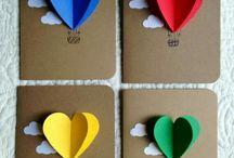 Kézzel készített kártyák