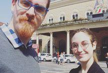 Instagram Stamattina siamo in viaggio per Firenze, ora in attesa dei passeggeri di #blablacar qui a Bologna! :D e voi le vacanze dove le fate?