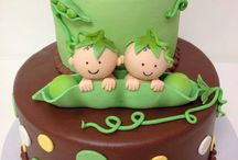 peas in a pod cakes
