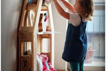 DIY kids room / DIY crafty kid room ideas for decorating,  storage and more
