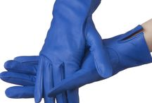 Color your life with glove / Leather gloves for women. Beautiful colors.
