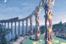 Rob Gonsalves Magician Paintings