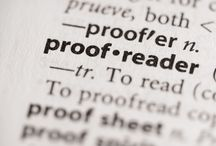 On writing, editing & proofreading