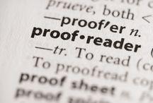 On writing, editing & proofreading