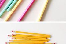 School pencils!  / Beautyful!