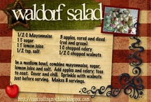 Salads / by Elizabeth Ginter