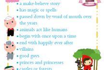 Fairy Tales / Ideas for a kindergarten themed literacy/drama/creative arts Unit