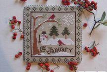 Winter Cross Stitch