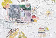 In the spotlight: Simple Stories Bloom&Grow @scrapbookwerkstatt