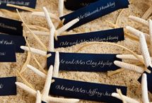 Rustic/Beach Style Placecards / by Nicole Kaney