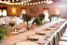 Wedding Reception Inspiration. / Wedding Day Details from our Favorite MMP Weddings!