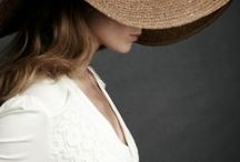 Nothing says lady like red lips and a hat / Hats / by Melinda Cumbee