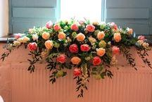 dekoracja na stół wesele