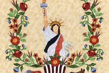 Baltimore Liberty / Baltimore Liberty Quilt by P# Designs