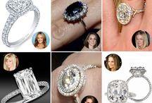 Celeb Engagement Rings/Weddings