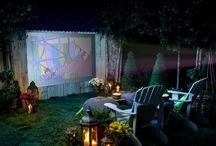 Outdoor movie nights / by Jessica