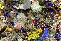 Tapetenträume / Opulente Dessins des St. Galler Textilhersteller Jakob Schlaepfer werten jeden Raum auf.