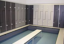 Lockers / Kemmlit #Locker Systems are a perfect combination of inspirational design and highly durable materials, providing products suitable for all types of installation.