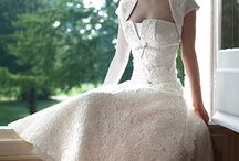 sexy wedding dresses / by Tina Chan