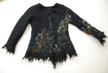 Wool look / Felting & wool wear ideas