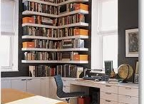 bookcases / by Theresa Clouser
