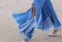 Jeans / Die coolsten Jeans-Looks + Denim-Trends