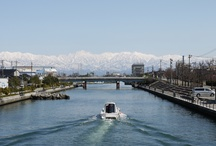 Toyama (富山) / Toyama is the best places viewing the peaks of Tateyama.