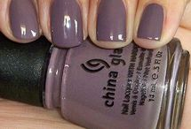 China Glaze Nail Polishes to buy / by Allyson Callahan